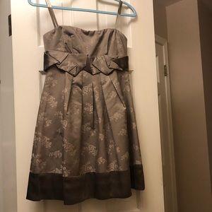 BCBG max azaria strapless dress